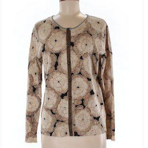 Sigrid Olsen Silk Cardigan Size L